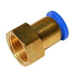 Быстросъемное соединение с внутренней резьбой 1/2 под шланг 12 мм