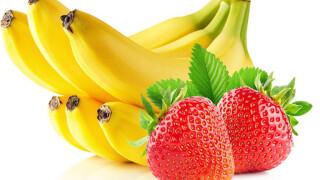 Бананово-клубничный ликер